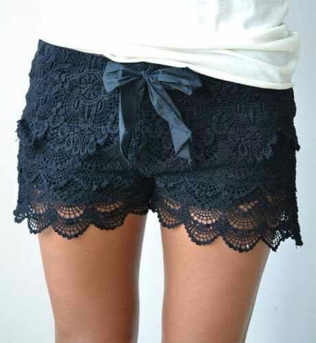 Lace shorts