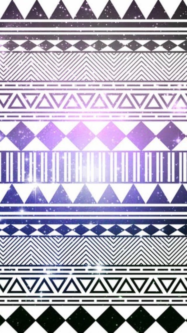 Aztec patterned