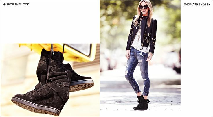 She's Got Game- @Blair Eadie // Atlantic Pacific shows her sporty side in Ash shoes