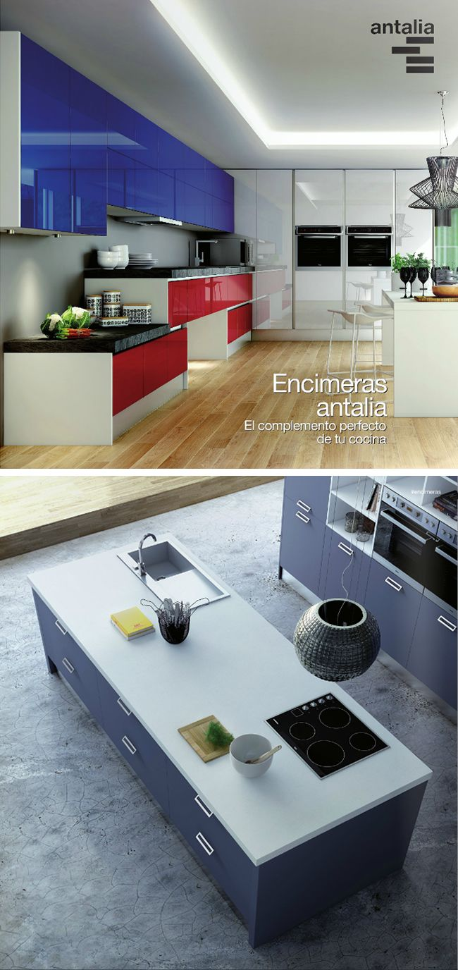 38 best Cocina images on Pinterest | Kitchens, Cabinets and Cuisine ...