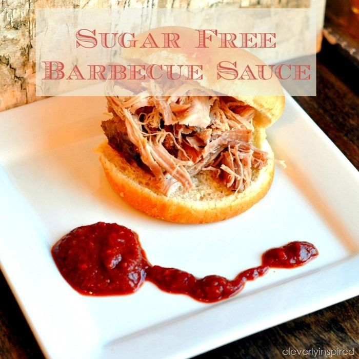 Yay for Sugar free barbecue sauce! Pinning 2x do I can pin to diabetes board!  @cleverlyinspired (1)