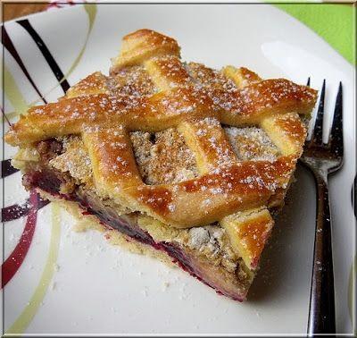 Limara péksége: Szilvás-dióhabos rácsos pite