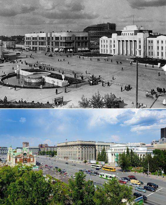 Дом Ленина построен как оптимистичный ответ на трагическую смерть вождя пролетариата.