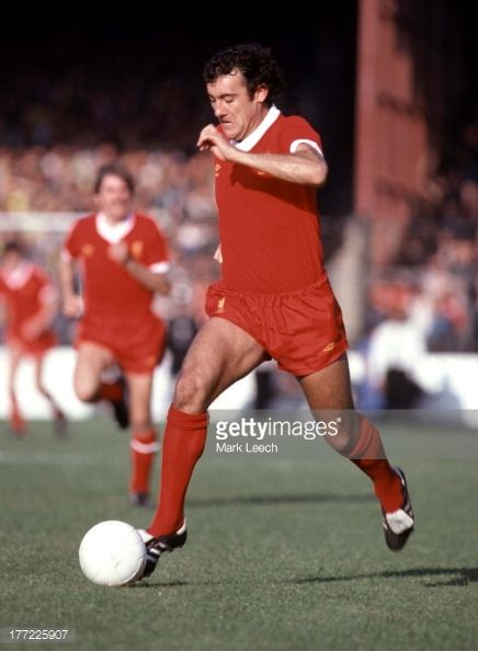 English Football League Division One Norwich City v Liverpool Ray Kennedy