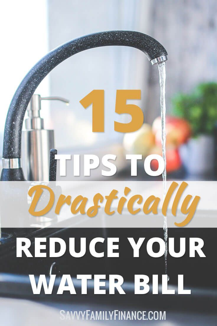 We have easy tips on how you can save money and save water.   Lower water bill   reduce water bill   conserve water