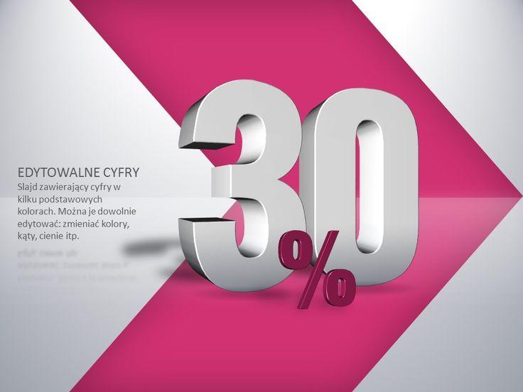 Liczba 3d - procent % http://www.powerslajdy.pl/pl/p/Liczba-procent-3D/87#prettyPhoto