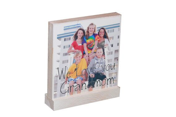 PERSONALIZED PHOTO GIFTS - Great Gifts- Any amount possible-Custom Wooden Photo Displays For Family Pictures-Great Christmas Gifts on Etsy, $9.50