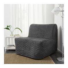ЛИКСЕЛЕ ЛЁВОС Кресло-кровать, Валларум серый - - - IKEA