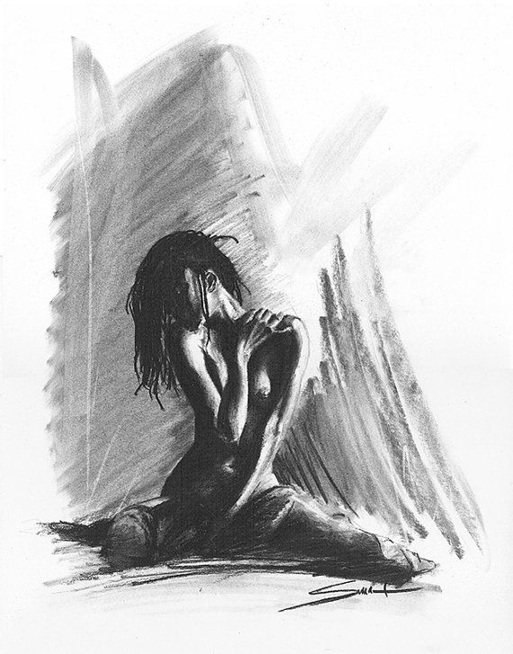 Nude Female Drawings 106