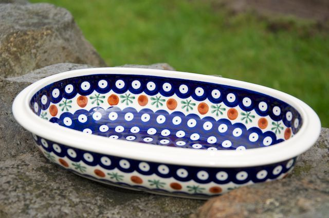 A lovely pie dish.  To buy visit our shop or website at www.polkadotlane.co.uk