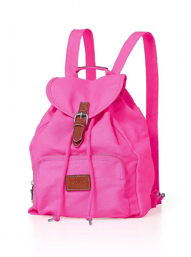 Mini Backpack - PINK - Victorias Secret  Just bought last night for our Bahamas Cruise! This will be perfect for excursions!!