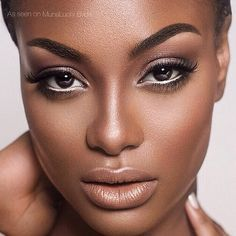 natural makeup african american - Google Search