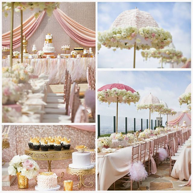 Real Event: Ballerina Princess Baby Shower: Newport Beach | Shawna Yamamoto Event Design