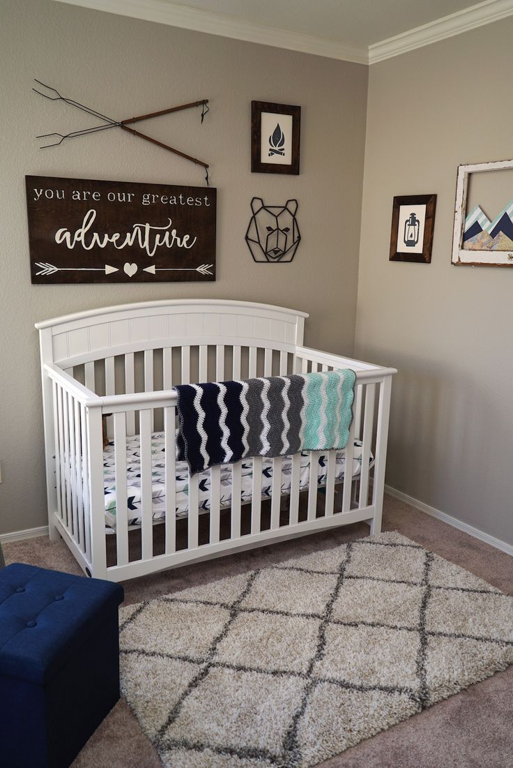 Adventure Nursery Reveal Boy Nursery Themes Baby Nursery Neutral Nursery Room