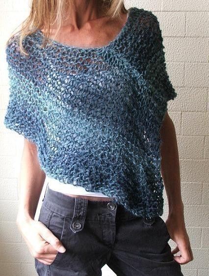 Blue peru Poncho /cape Ltd Edition left in this shade by ileaiye-- alpaca wool