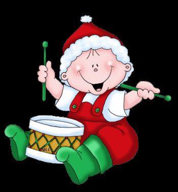 christmas drummer baby