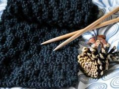 Tuto tricot ♥ L'écharpe au point de gaufre • Hellocoton.fr