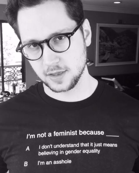 Matt McGorry is a feminist IRL