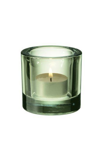 Iittala Kivi Votive Holder, Lime