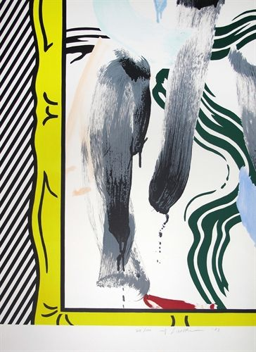 Against Apartheid by Roy Lichtenstein on artnet Auctions