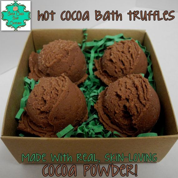 $7.50 for 4. Hot cocoa scented bath bombs