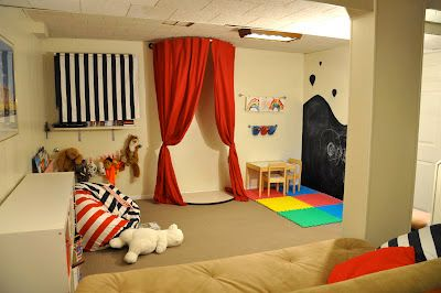 1000 ideas about playroom stage on pinterest kids stage for Kids rec room ideas