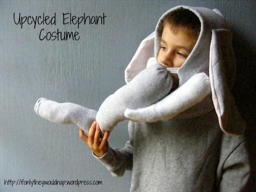 elephant costume from ifonlytheywouldnap.wordpress.com