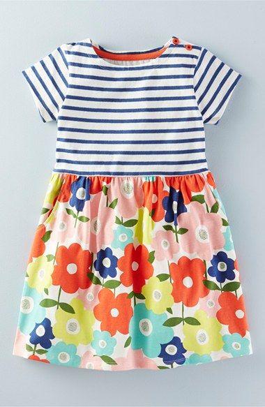 Mini Boden 'Hotchpotch' Jersey Dress (Toddler Girls, Little Girls & Big Girls) | Nordstrom