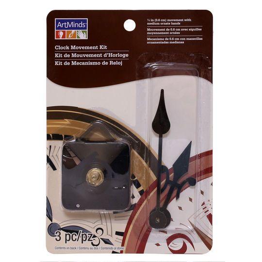 "1/4"" Clock Movement Kit by ArtMinds™"