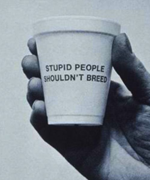 Darwinism on a cupTruths Hurts, Mean People, Quotes, Cups Of Coffe, Coffe Cups, True Facts, Funny, Stupid People, True Stories