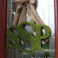 eclectic outdoor decor by Etsy