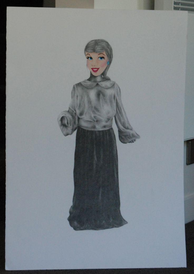 2013 - Princess Cinderella, Age Six