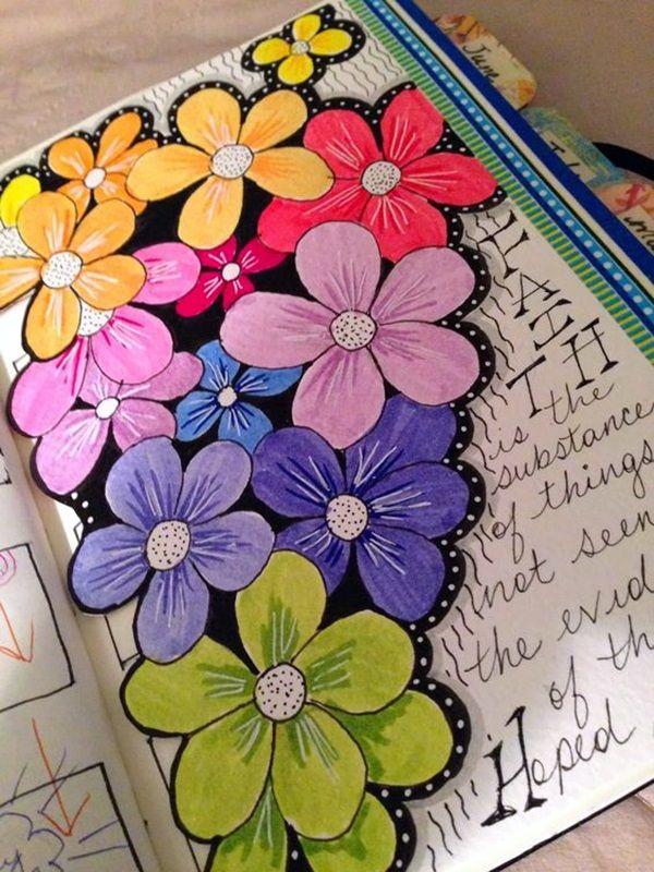 40 Between The Gaps Notebook Art Inspirations For Hidden Artists