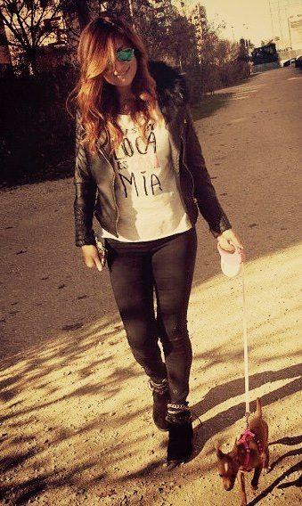 Si estoy loca es cosa mía , camiseta molona donde las haya. Te queda ideal Patrizia Lopez _Casi Perfectas