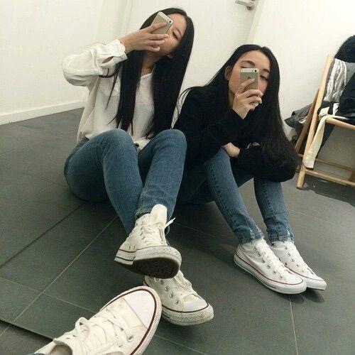 Pinterest Artcentral ☾ Fashion Best Friend Goals