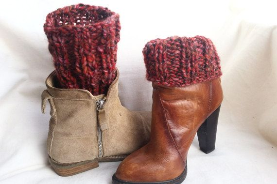 Hey, I found this really awesome Etsy listing at https://www.etsy.com/listing/204229999/wool-legwarmers-knit-boot-cuff-cover