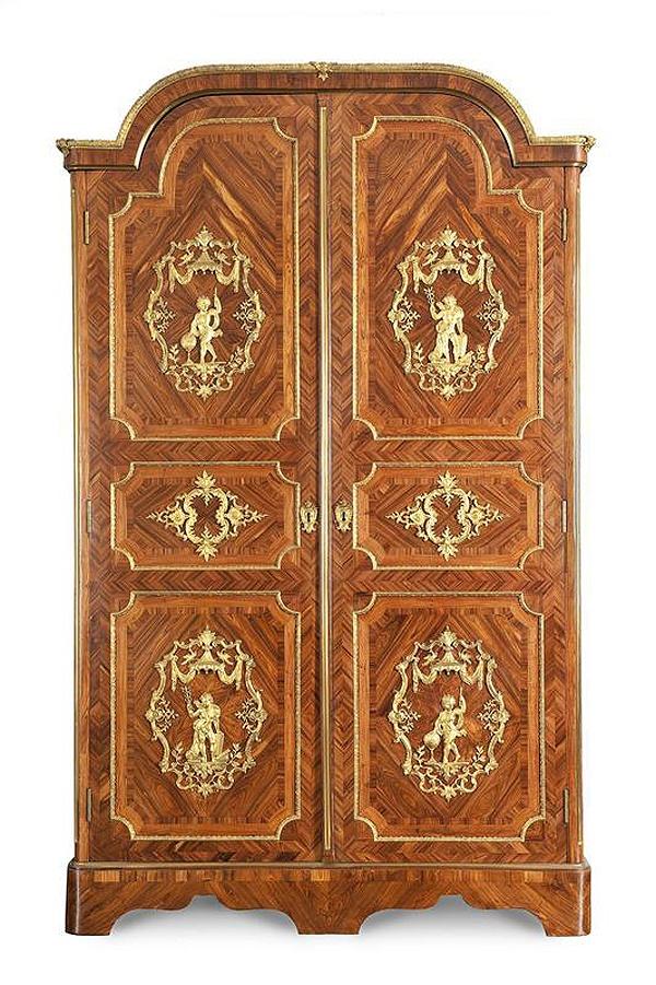 Armoire Par Cressent Style Louis Xv Pinterest