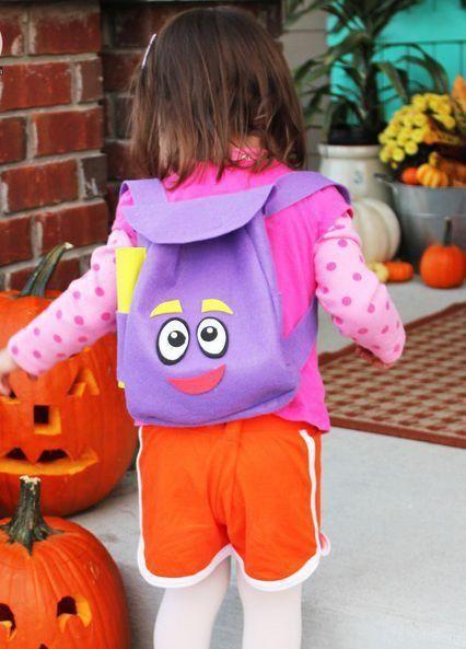 Como hacer una mochila de Dora la exploradora | Todo Manualidades