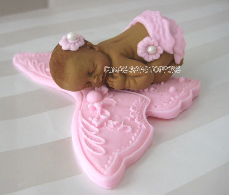 Butterfly Cake Toppers Baby Shower : 250 best images about Realisticke panenky on Pinterest ...