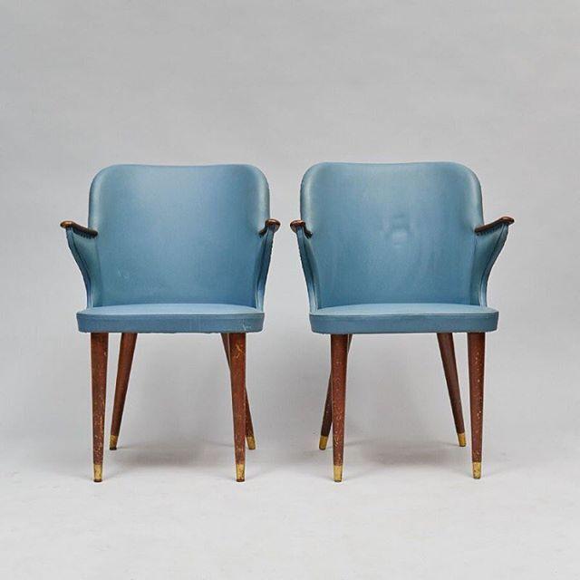 Stolar från Sommen, midcentury-stil #vintage #interior #chairs #midcentury #50s