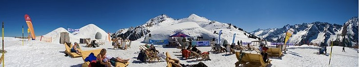 Ice Bar, Snowbombing, Mayrhofen, Austria