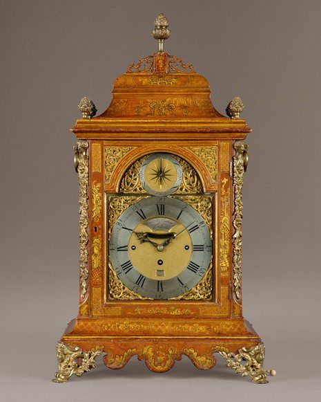 by CLAUDIUS DU CHESNE, LONDON early 1700s  He was a French Huguenot  who had previously worked in Paris  See Link for more Info I am making a new board for French English Clock makers