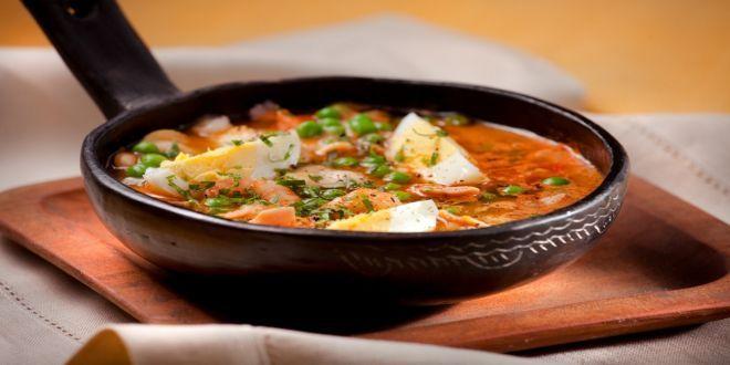 Esta es la Receta de Guiso de Pescado y Mariscos, una fácil y rápida preparación de intenso y delicioso sabor.