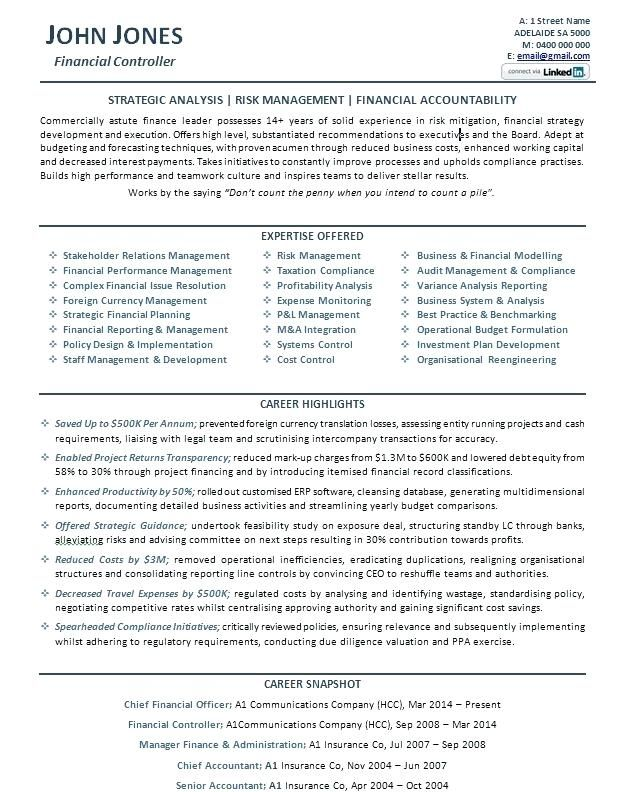 Resume Examples For Business Executive Resume Resume Examples
