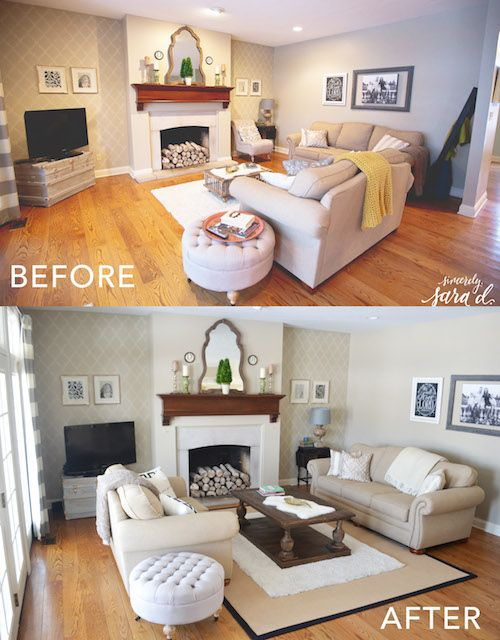 Living Room Update DIY Home Decor Ideas Pinterest