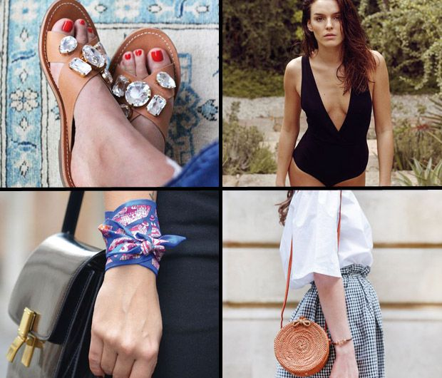 Jupe en jean, panier en osier, bandana, casquette gavroche… Zoom sur les 9 tendances mode incontournables de l'été