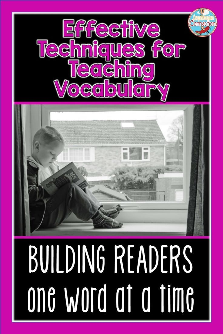 Five Effective Techniques For Teaching Vocabulary Vocabulary Strategies Vocabulary Instruction Teaching Vocabulary