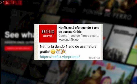 Netflix está dando um ano de assinatura grátis? Não caia em mais esse golpe