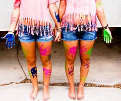 @Karlee Friese Friese Friese, can we have a paint fight!?