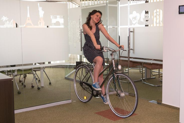 Bike friendly - checked. Showers in the office - checked! Join us for more benefits: http://makeit.software/work-with-style-and-make-it-fun